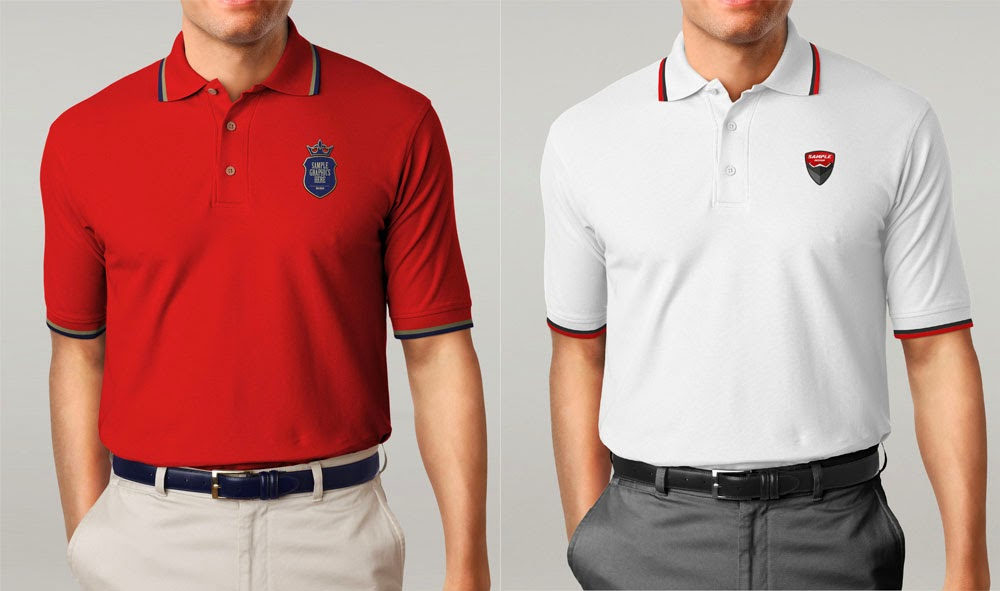 Free download psd logo mockup for Free polo shirt mockup