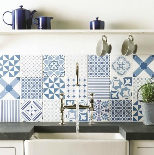 Tip In Order To Calculate The Amount Of Tile You Will Need Measure The Square Footage Of Your Kitchen Backsplash Then Be Sure To Add An Additional 10 To