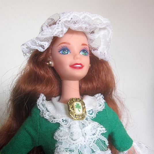 irish barbie, 1995, mattel