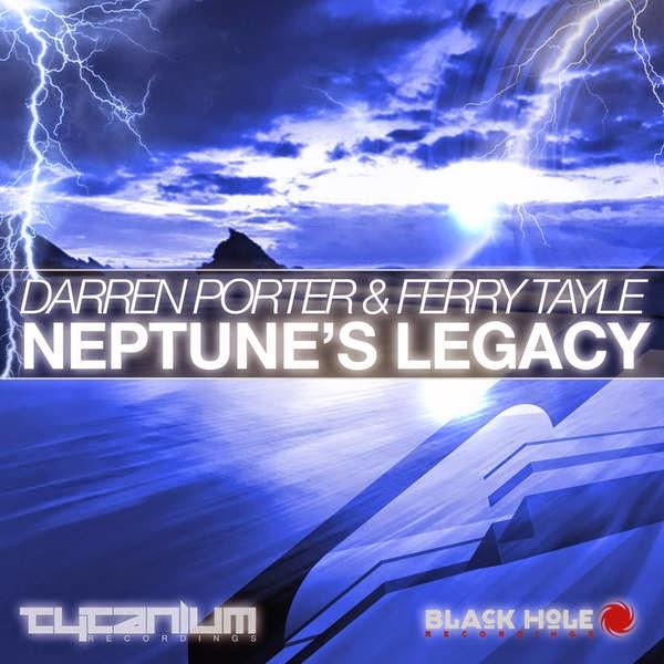 Darren Porter & Ferry Tayle - Neptune's Legacy - Single Cover