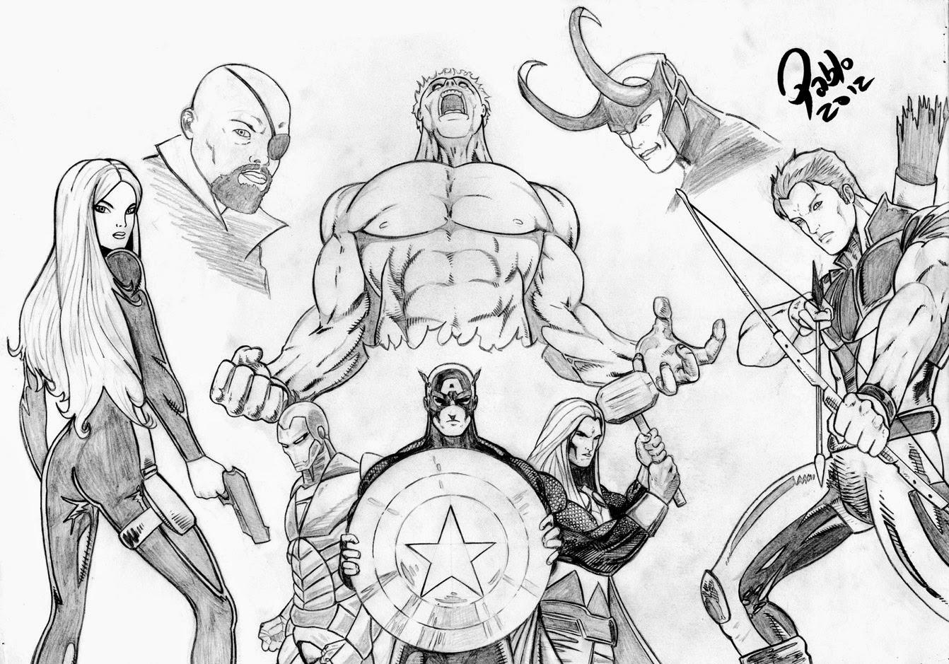 A turma do capitão américa
