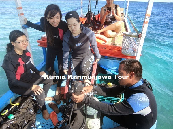 diving di karimunjawa