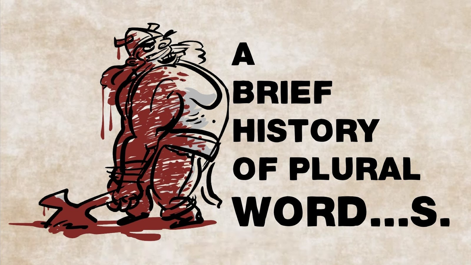 a brief history of english and A brief history of time is not only a documentary on the beginning and the ending of the universal and reality as we know it, this is a story about the man and the.