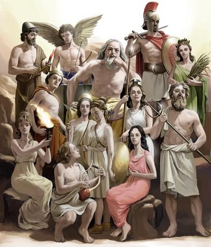 Alm7 Greek Mythology Legends