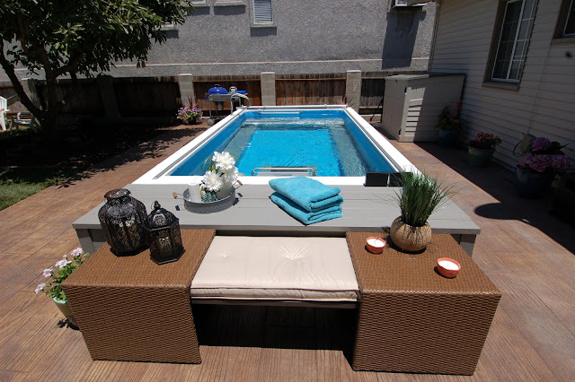 The completed Endless Pool on Spike TV's Catch a Contractor, season 3, episode 9.