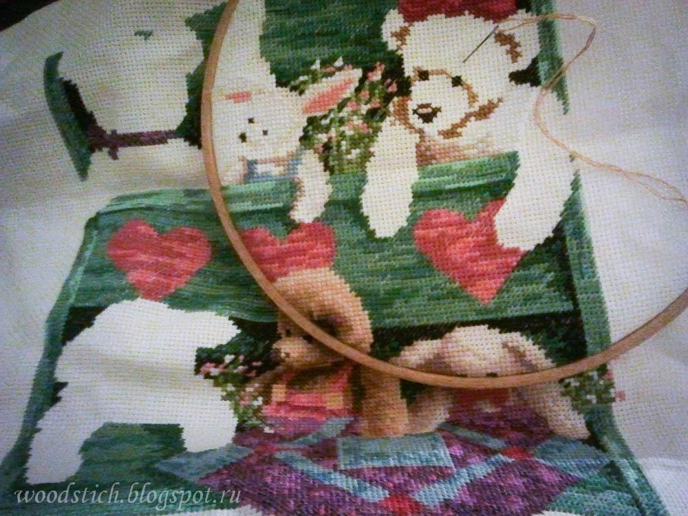 13684 animal shelf схема вышивки 69