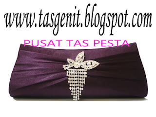 tas pesta clutch bag cantik swarovski