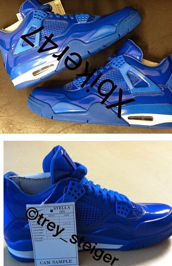 Here is some images of a sample pair of Air Jordan 11Lab4 Blue Sneakers  will may see hitting retailers later this year 8fba6474d7