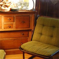 vintage chairs, chests, tables and more at pretty funny in tarrytown new york