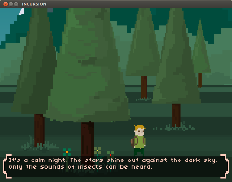 Incursion, A Text Based Adventure Game with Retro Graphics ...