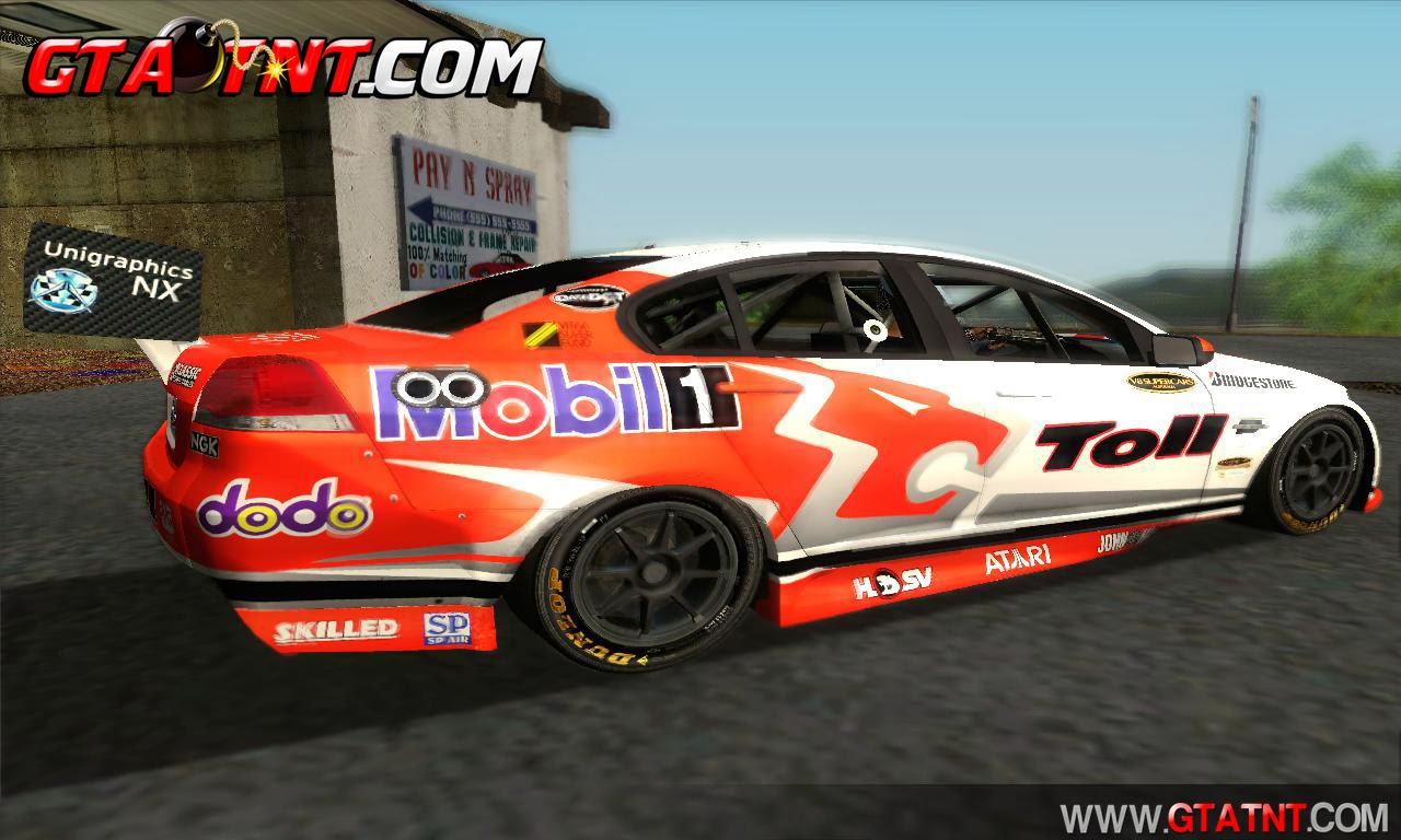 GTA SA - Holden Commodore