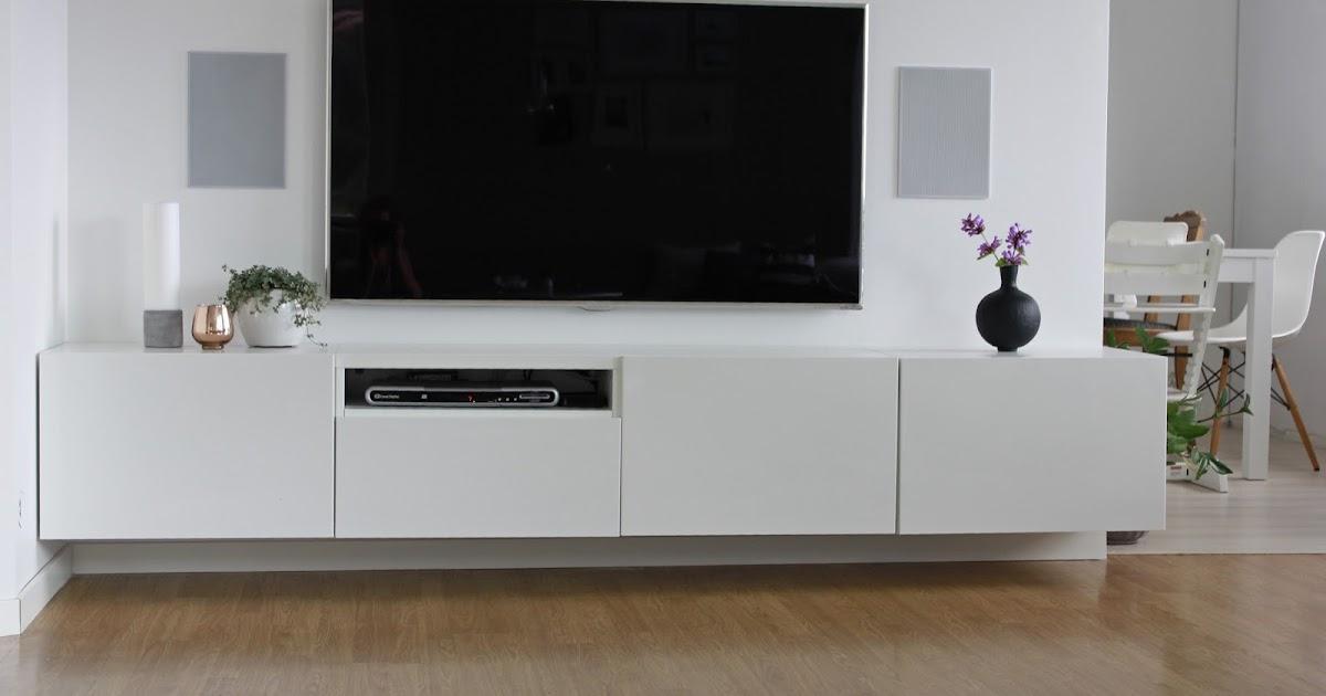 Hagenhuset: Ny tv-vegg