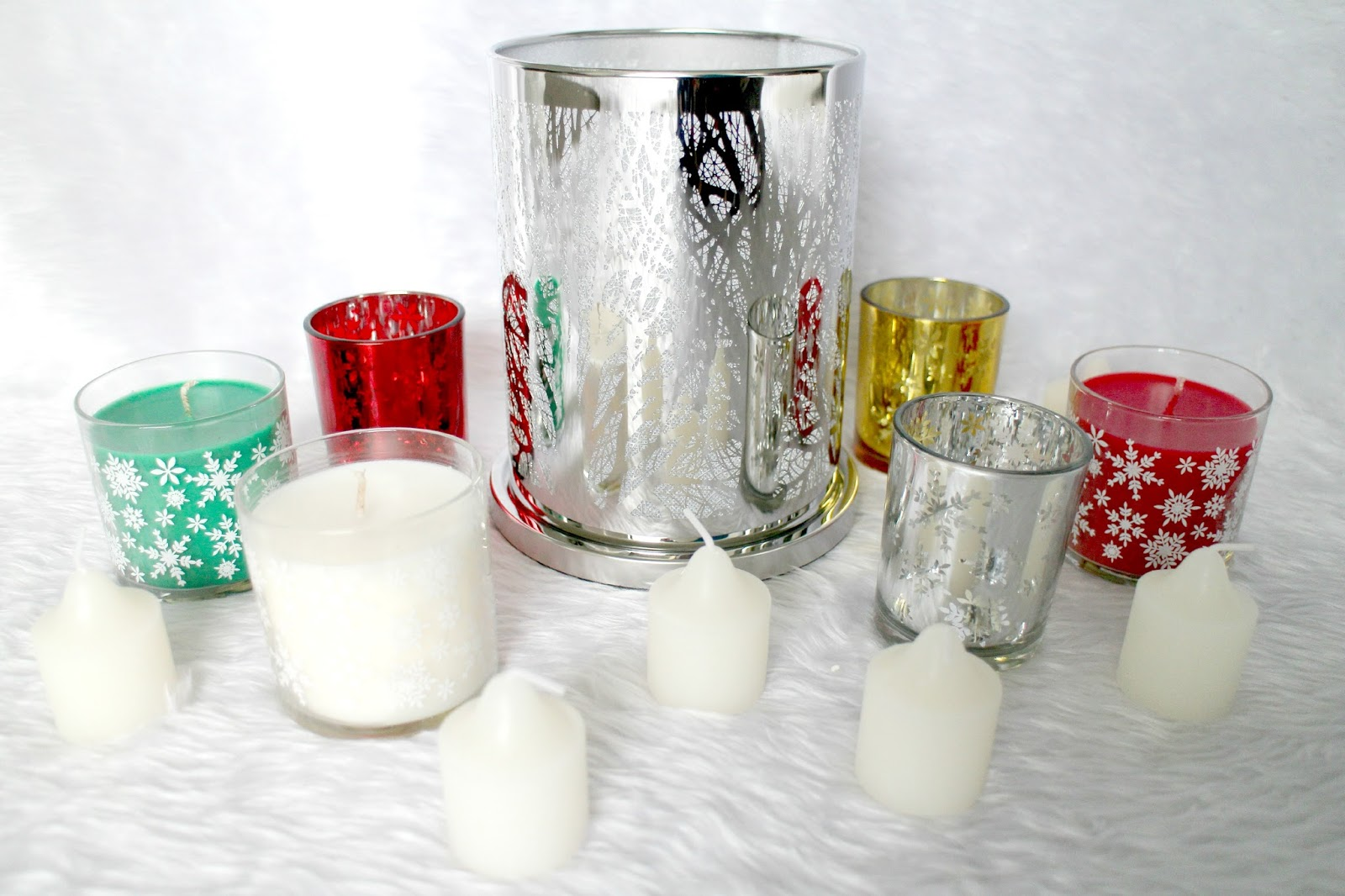 Partylite Christmas Candles