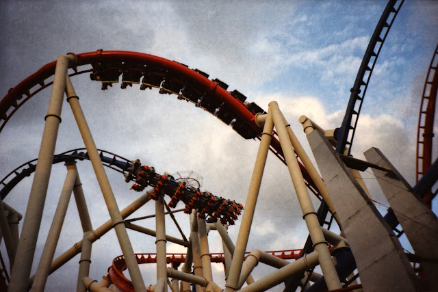 Universal studios Singapore battlestar galatica rollercoaster