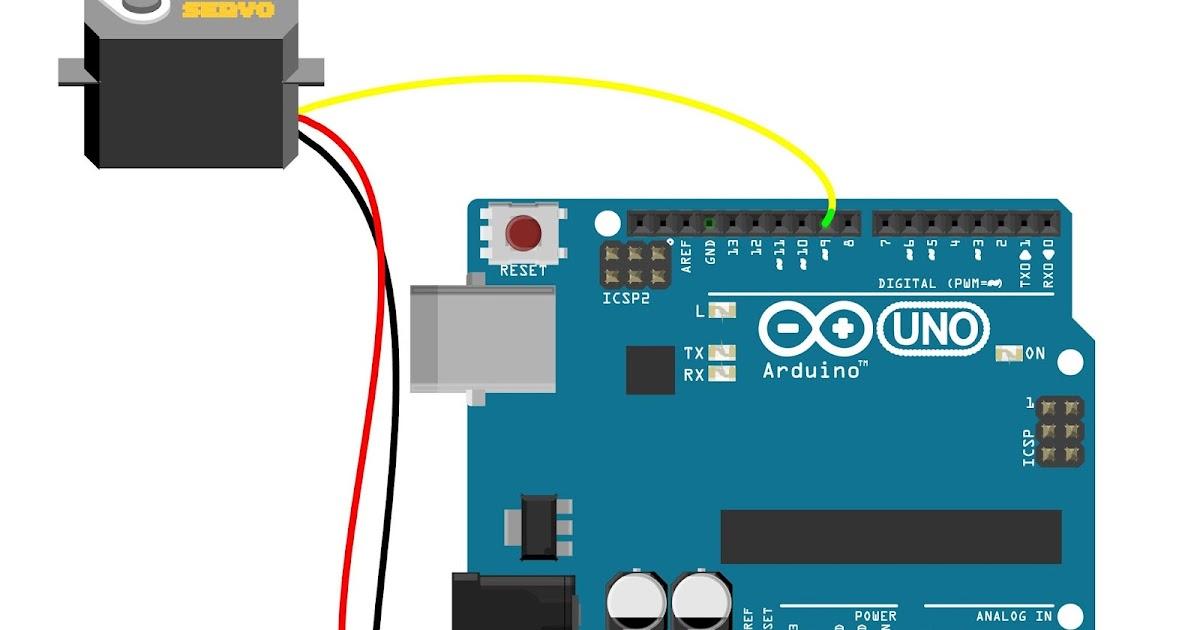 Arduino serial monitor controlled servo mechatrofice for Servo motor position control system