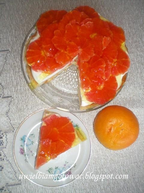 Ciasto grapefruitowe