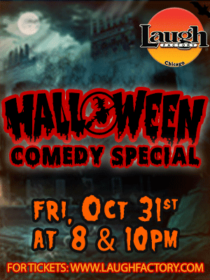 Laugh Factory Halloween Show!