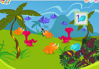 http://duckiedeck.com/play/counting-dinosaurs