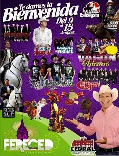 Feria Cedral 2014