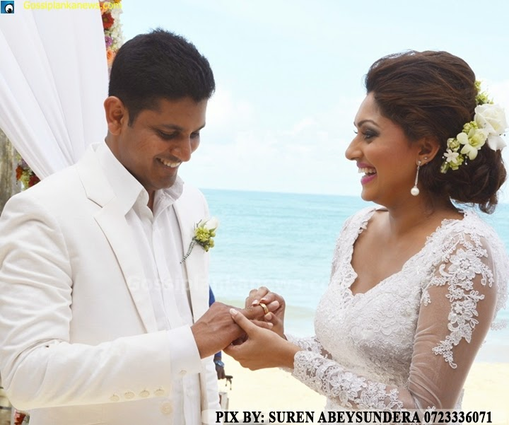 Aruni Rajapaksa Wedding
