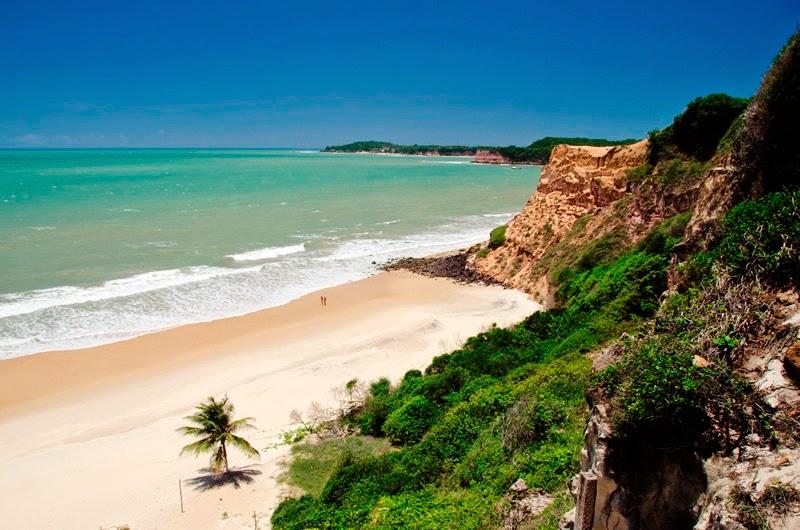 praias brasileiras paquerar pipa