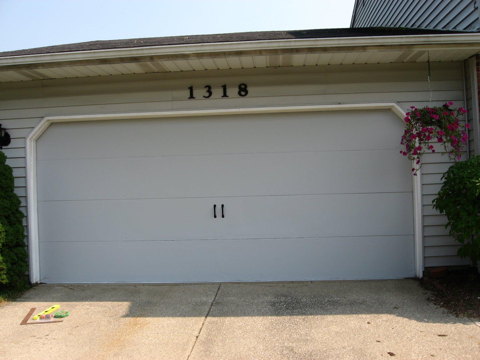 Betwixt Home and School Faux Carriage Garage Door
