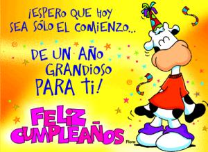 Frases Para Cumpleaños: Espero Que Hoy Sea Sólo El Comienzo