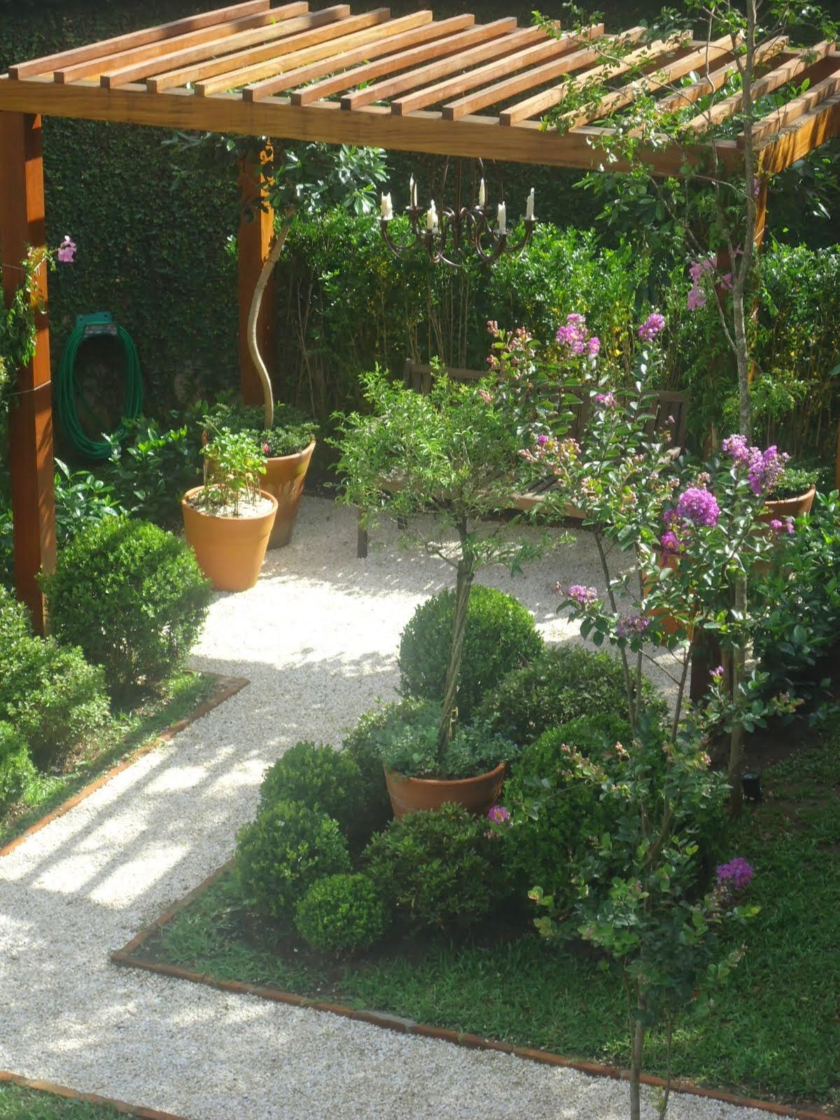 .Meus jardins...