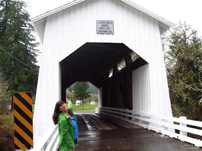 Covered Bridge, Lane County, Oregon, Covered Bridge, Coast Range