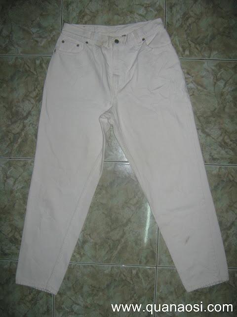 Quần jean Levis 550 màu trắng size 32 500k