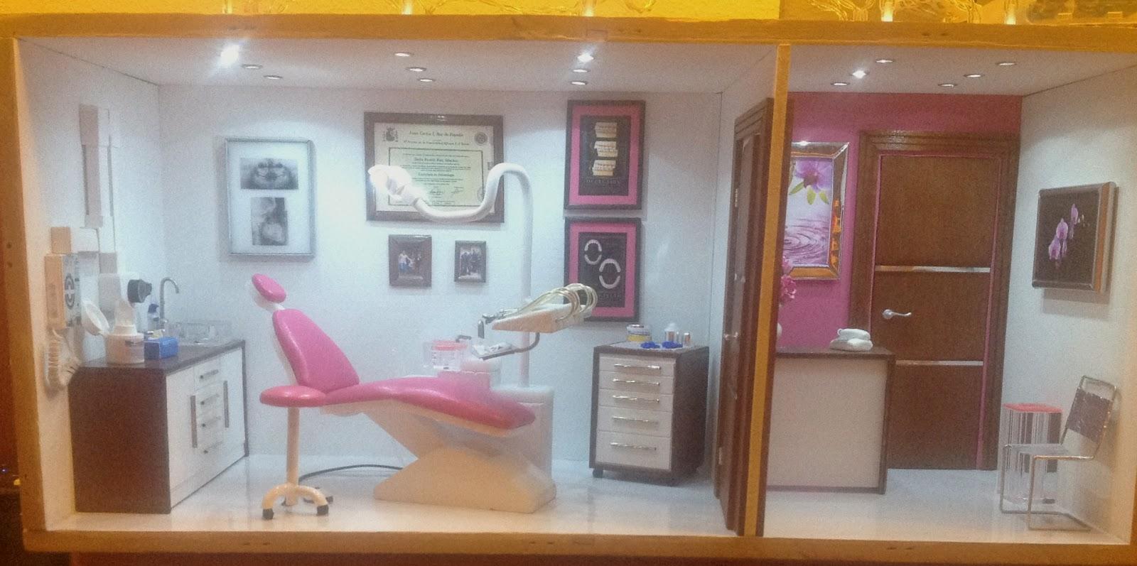 Decorar con miniaturas gabinete dental - Decoracion de clinicas dentales ...
