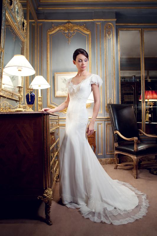 robes de mariage robes de soir e et d coration robe de mari e fabienne alagama. Black Bedroom Furniture Sets. Home Design Ideas