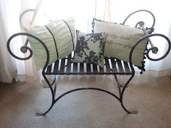 Decorative Paris style Bench- sold