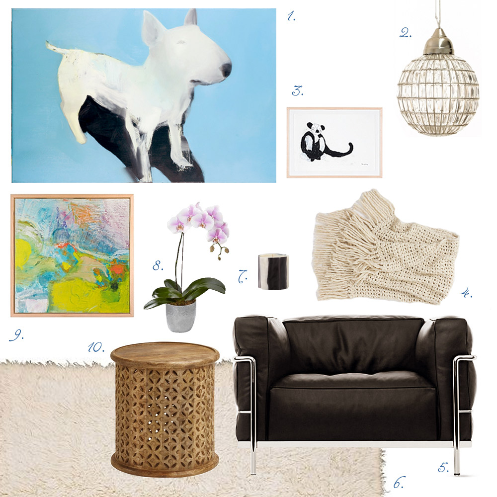 Bright July Styled Krzysztof Klusik Inspired Living Room