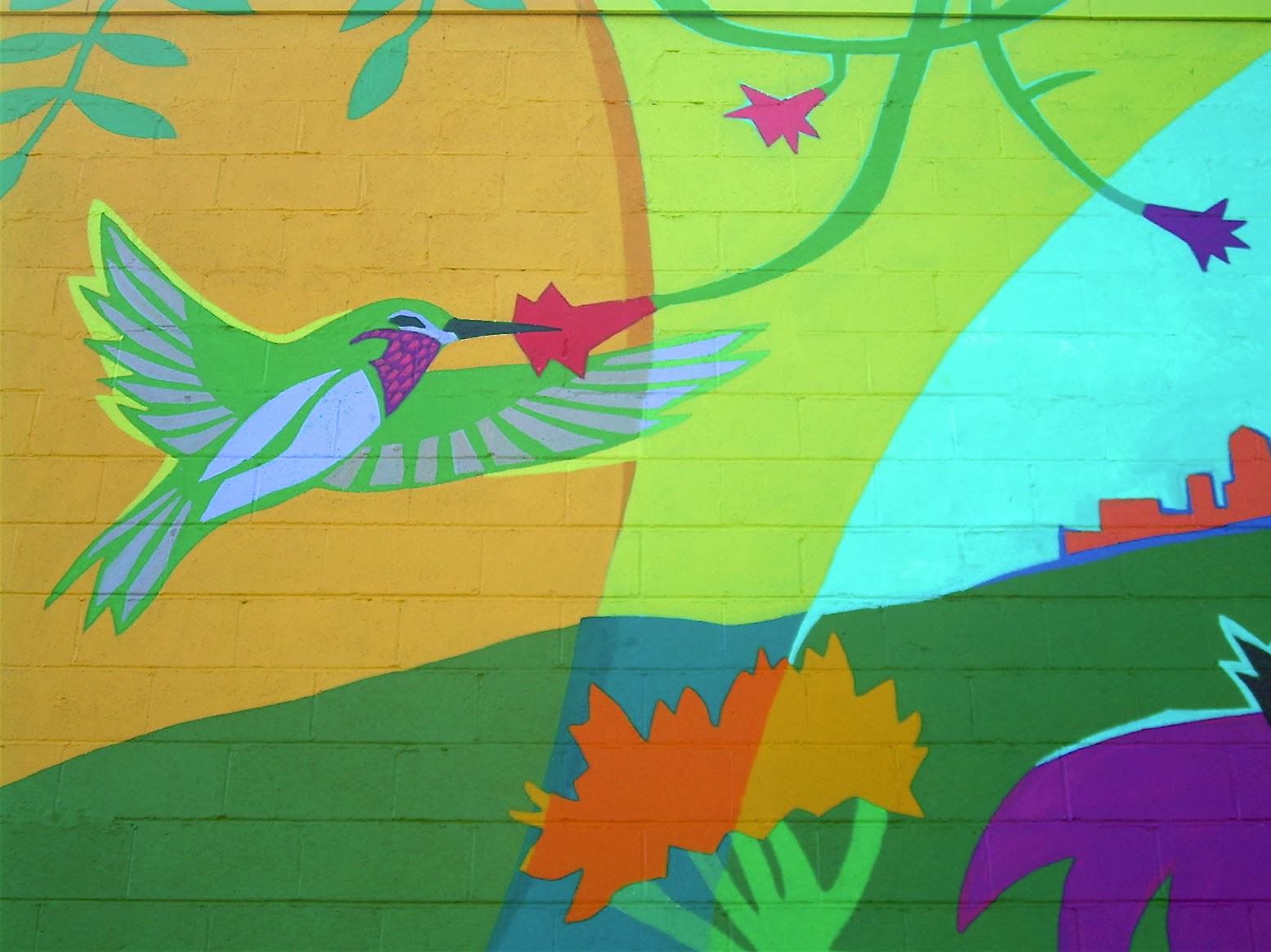 Help save the Pollinators mural!