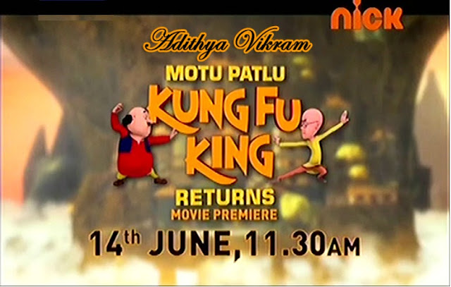 'Motu Patlu Kungfu King Returns' Movie Premiere Nick on 14 June|Story|Timing|Tagline|Title Song