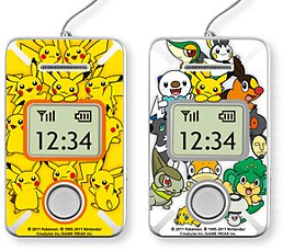Pokemon Decoration Sticker for 005Z part 1 Softbank