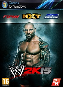 WWE 2K15 Repack-Black Box Terbaru 2015 cover