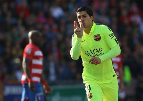 arez chói sáng, Barca gây áp lực mạnh lên Real