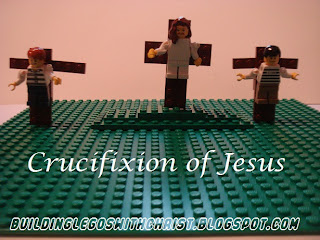 LEGO Creation of the Crucifixion of Jesus, Christian LEGO Creations
