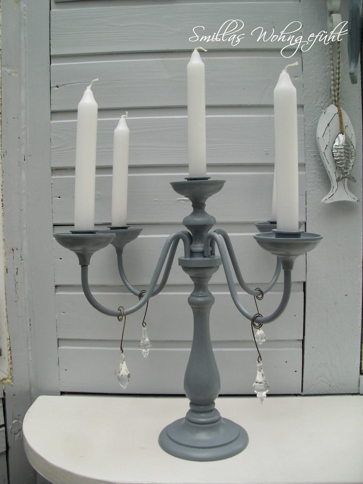 Kerzenhalter streichen
