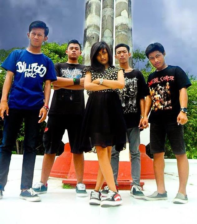 Nockturnal Band Deathcore / Metalcore Purwodadi - Jawa Tengah - Indonesia Female Vocal Foto Personil Wallpaper