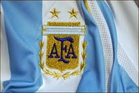 El escudo de la AFA