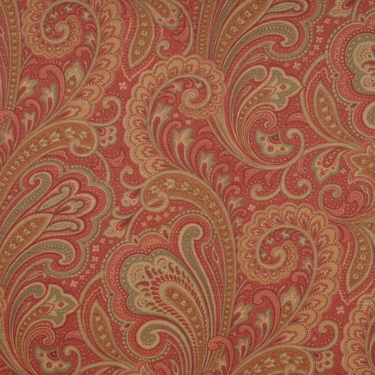 paisley fabric inspiring traditional home decor