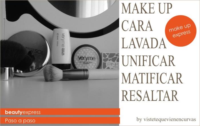 """Beauty Express - Make Up """"cara lavada"""""""