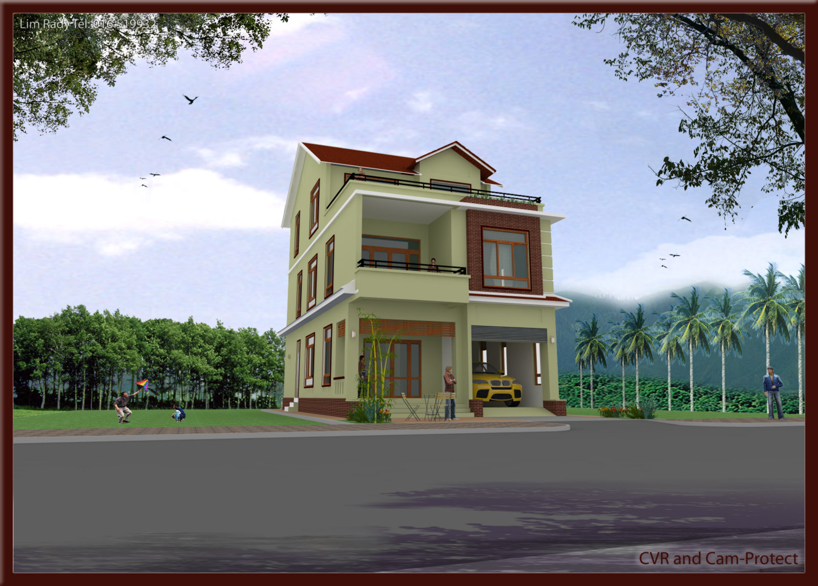 Sketchup and vray render title=