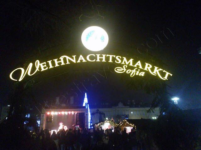 Weihnachtsmarkt Sofia