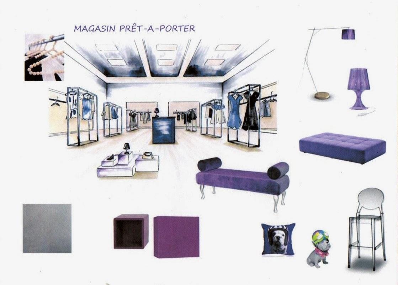 crea lou: agencement magasin prêt-à-porter