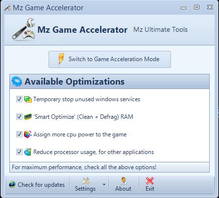 الالعاب Game Accelerator مجانا,بوابة 2013 4.png