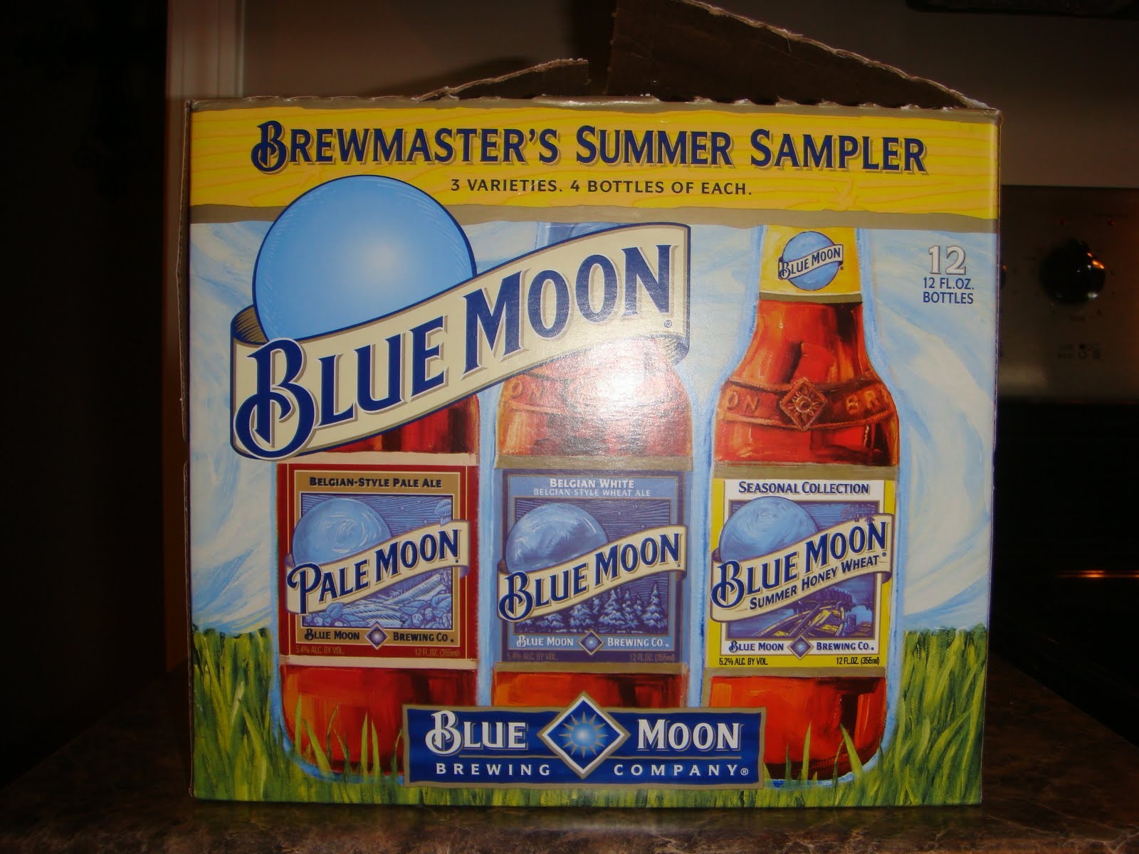 Brian's Beer Guide: Blue Moon Summer Variety Pack